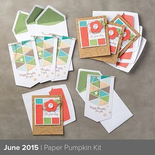June Paper Pumpkin