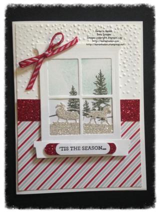 Holiday Window Card