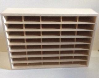 Unfinished Punch Shelf