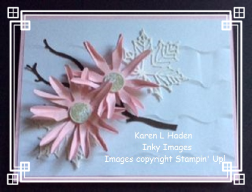 Ruffled Flower Card