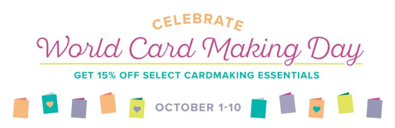 1 World Card-Making Day Banner