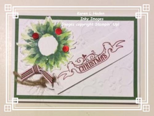 4 Wreath Card