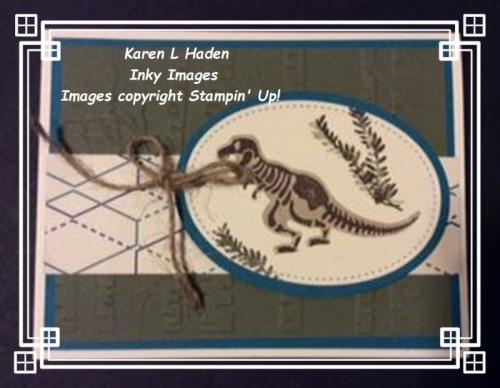 Dinasaur Card