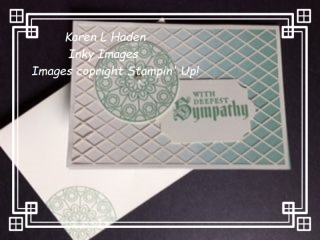 Sympathy Note Card