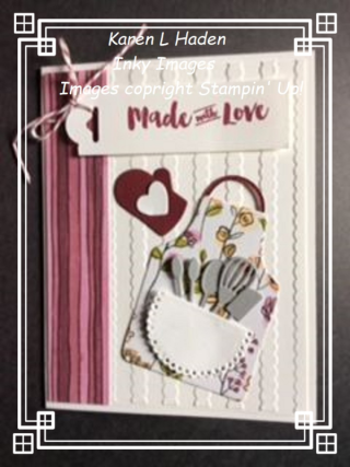Made with Love Apron Card