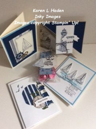 July Stamp Camp Projects