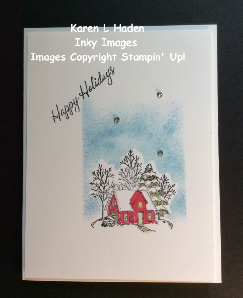 6 Holiday Cottage Card