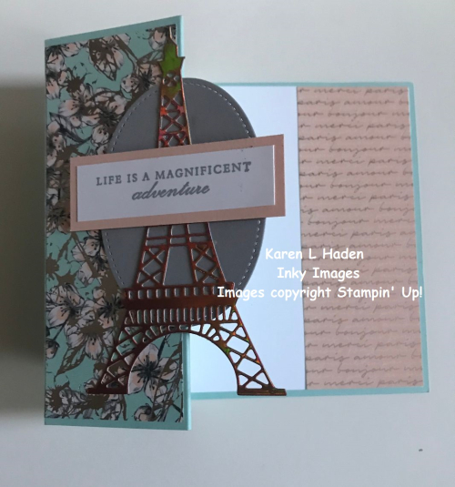 Parisian Adventure Card