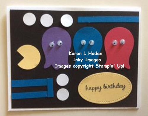 Pac Man Card