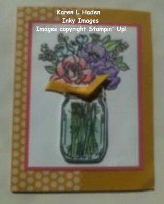 Jar of Flowers 1