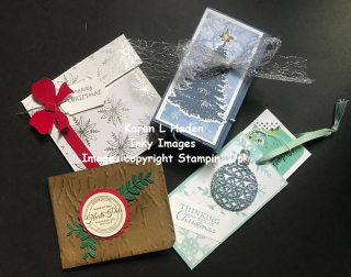 Nov Unique Gift Card Holders Class