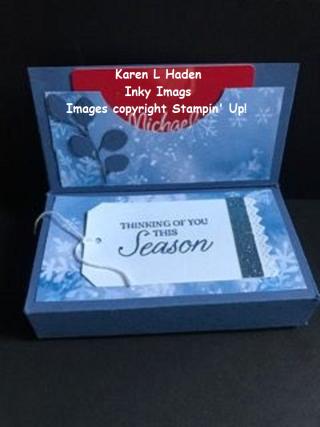 Gift Box Gift Card Holder 2