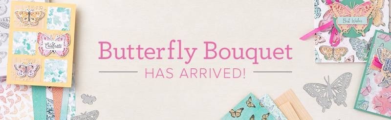 Butterfly Bouquet Header