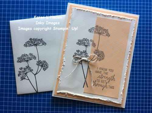 Queen Anne's Lace Card