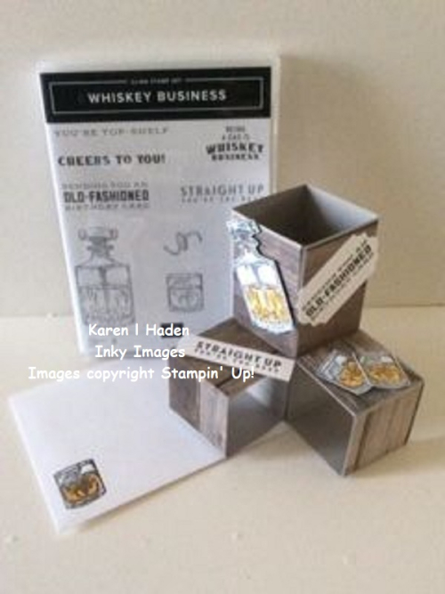 Whiskey Business Tri Pop Up Card