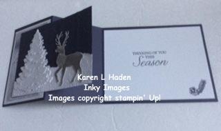 Winter Scene Z-Fold Card 2