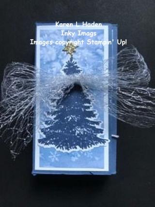 Gift Box Gift Card Holder 1